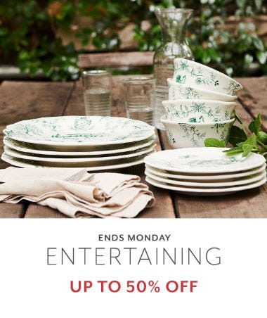 Up to 50% Off Entertaining from Sur La Table