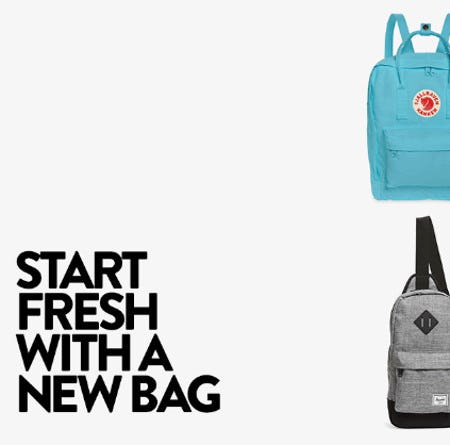 Start Fresh With a New Bag