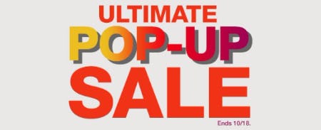 Ultimate Pop-Up Sale