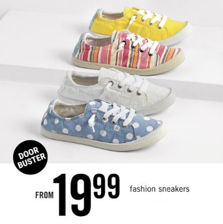 Fashion Sneakers From $19.99