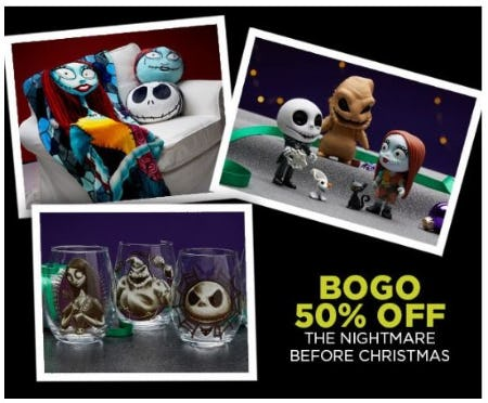 bogo 50 off the nightmare before christmas