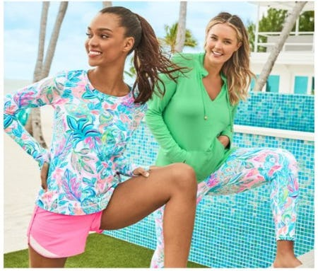 New and Noteworthy: Luxletic Edition from Lilly Pulitzer