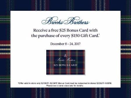 Receive a Free $25 Bonus Card