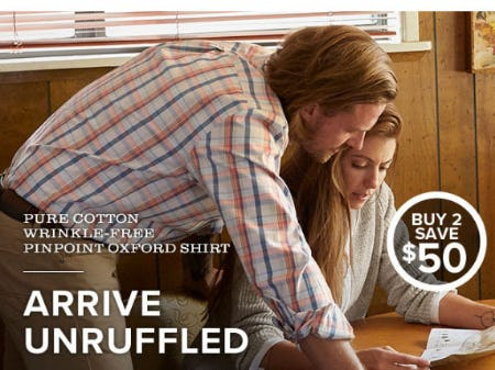 Buy 2, Save $50 Men's Shirts from Orvis
