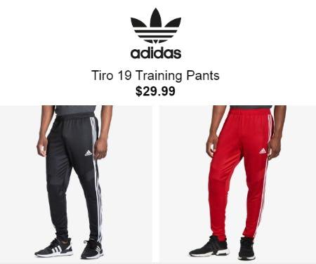 Tiro 19 Training Pants for $29.99