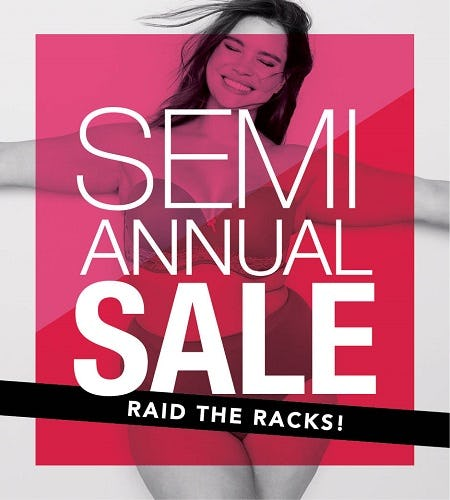 SEMI ANNUAL SALE GOING ON NOW! from Lane Bryant