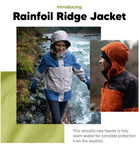 Introducing Rainfoil Ridge Jacket from Eddie Bauer