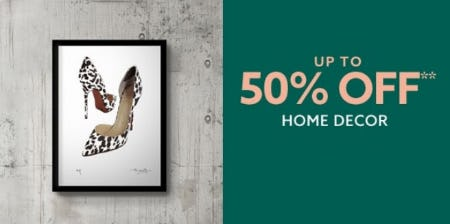 Up to 50% Off Home Decor from Lord & Taylor