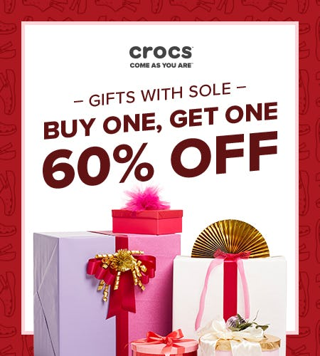 BOGO 60% Off! from Crocs