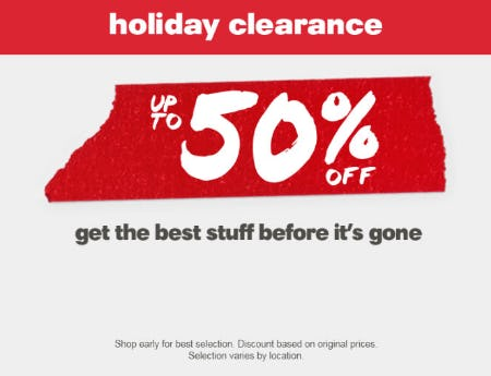 Up to 50% Off Holiday Clearance from REI