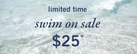 Swim on Sale $25 from Abercrombie Kids