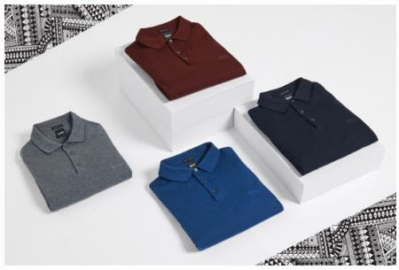 The BOSS Polo from Boss