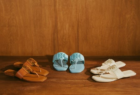 New Summer Sandals from Tory Burch