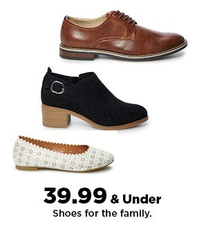 $39.99 Shoes for the Family from Kohl's