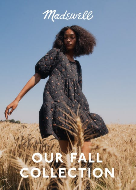 Our Fall Collection from Madewell