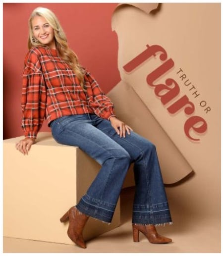 Check All Boxes: Plaid and Flares from Versona