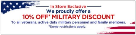 10% Off Military Discount from Motherhood Maternity