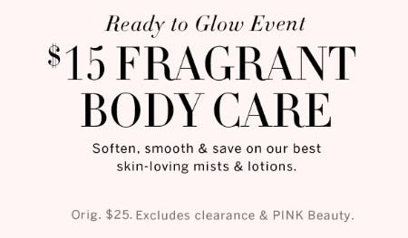 $15 Fragrant Body Care from Victoria's Secret Beauty
