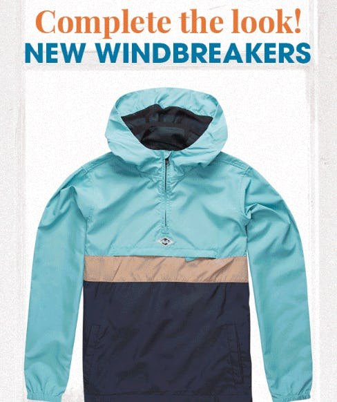 New Windbreakers from Tillys