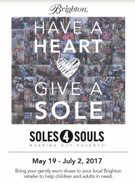 #BrightonGivesBack ~ Soles4Souls Wearing Out Poverty