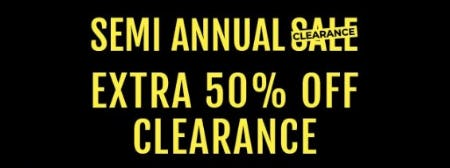 Semi Annual Clearance Sale from Torrid