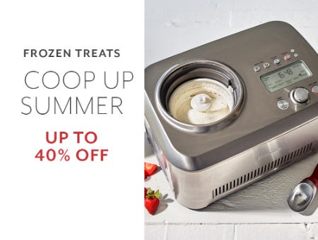Up to 40% Off Frozen Treats from Sur La Table