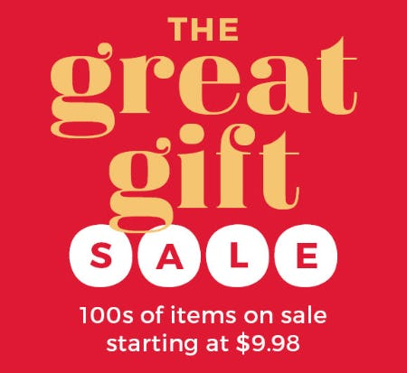 The Great Gift Sale from Stein Mart