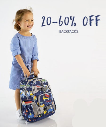 20-60% Off Backpacks