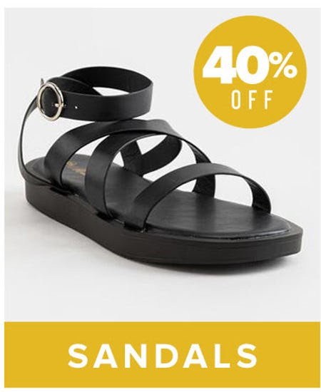 40% Off Sandals from francesca's