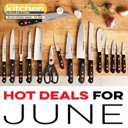 June_Kitchen Collection 2018 Promotions and Sales