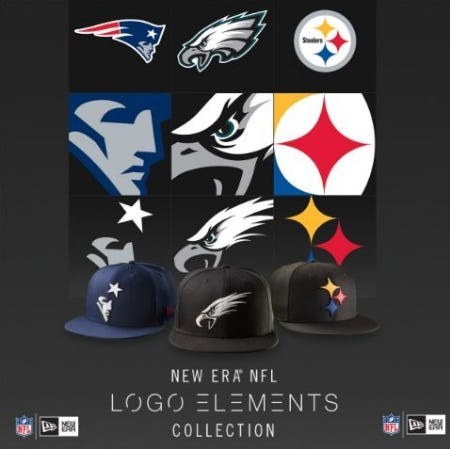 LIDS Exclusive Just Released  New Era NFL Logo Elements at Lids ... 52d2df427bf