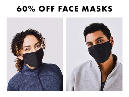 60% Off on Face Masks