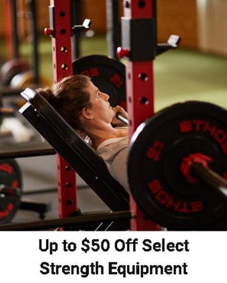Up to $50 Off Select Strength Equipment