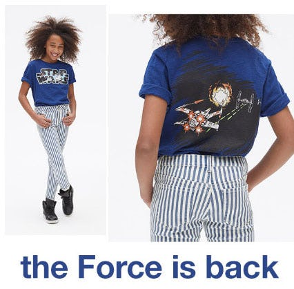 The Force is Back from Gap