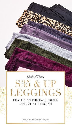 $35 and Up Leggings from Victoria's Secret