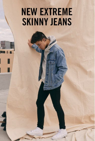 New Extreme Skinny Jeans from Abercrombie & Fitch