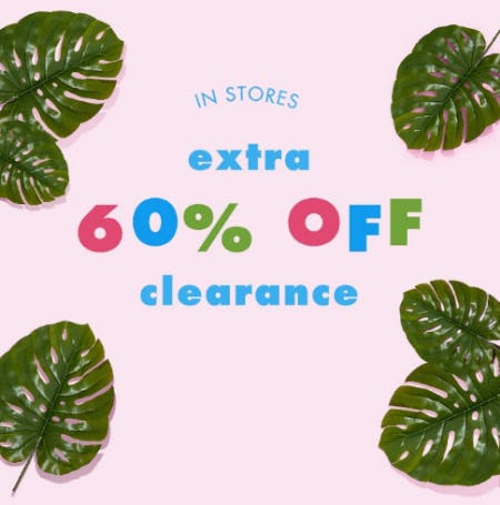 Extra 60% Off Clearance from Justice