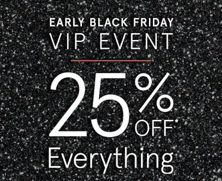 25% Off Everything from Zales Jewelers