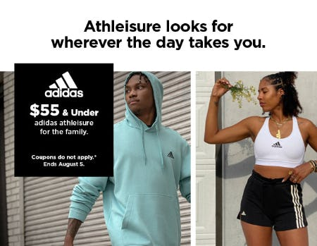 $55 & Under Adidas Athleisure for the Family from Kohl's