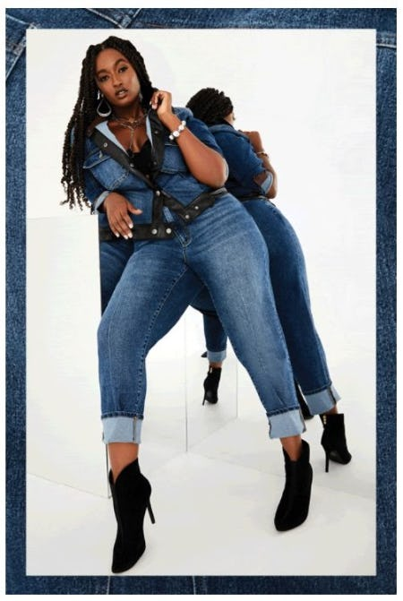 New Must-Have Denim Styles from Ashley Stewart