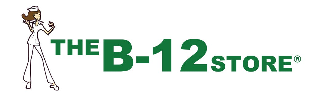 The B-12 Store Popup Logo