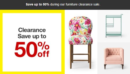 Up To 50 Off Furniture Clearance Sale At Target Pinnacle Hills