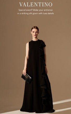 New Valentino: Elegance + Drama from Neiman Marcus
