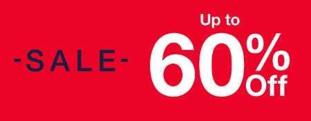 Up to 60% Off Sale from Gap