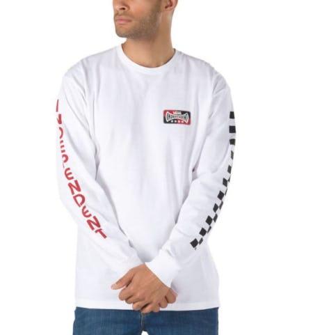 Vans X Independent Checkerboard Long Sleeve T-Shirt