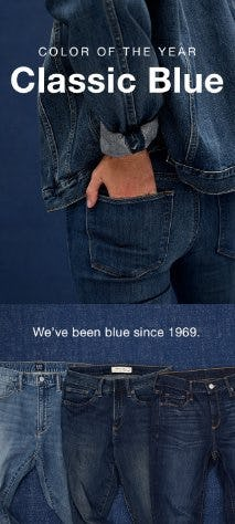 Color of the Year: Classic Blue from Gap