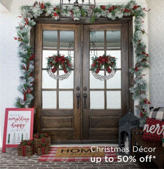 Up to 50% Off Christmas Decor