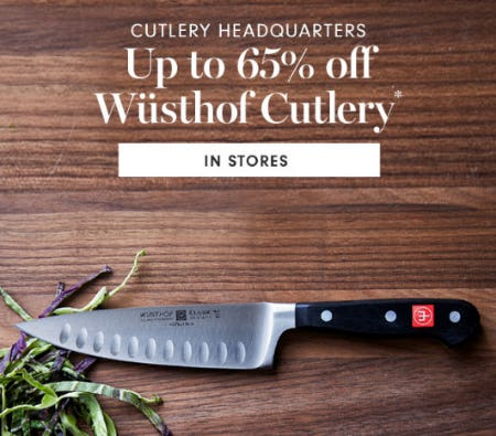 Up to 65% Off Wusthof Cutlery