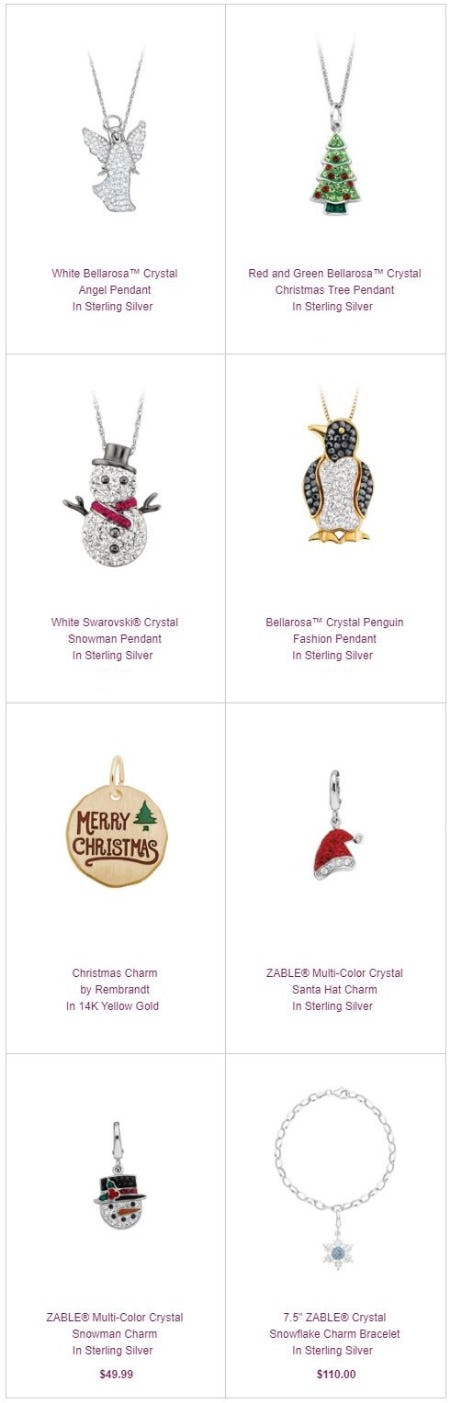 Charming in Many Ways: Pendants & Charms