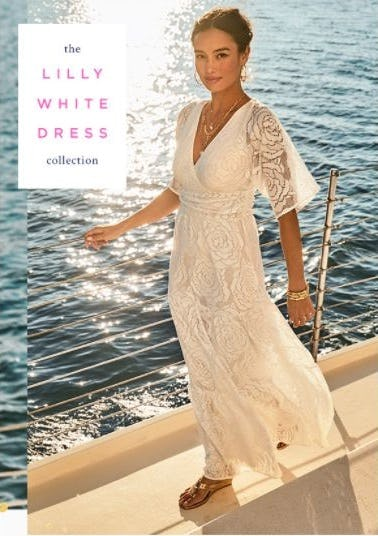 The Lilly White Dress Collection